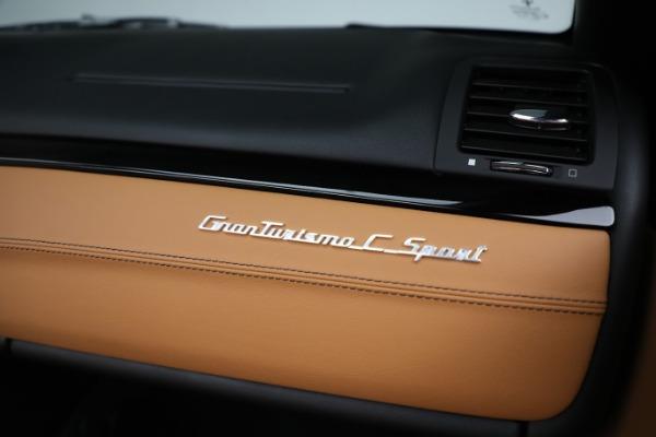 New 2019 Maserati GranTurismo Sport Convertible for sale $164,075 at Maserati of Greenwich in Greenwich CT 06830 26