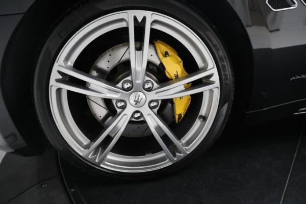 New 2019 Maserati GranTurismo Sport Convertible for sale $164,075 at Maserati of Greenwich in Greenwich CT 06830 27