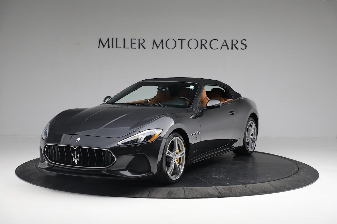 New 2019 Maserati GranTurismo Sport Convertible for sale $164,075 at Maserati of Greenwich in Greenwich CT 06830 1
