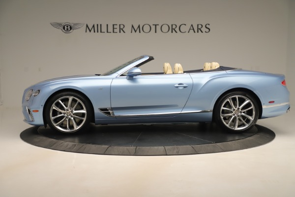 New 2020 Bentley Continental GTC V8 for sale Sold at Maserati of Greenwich in Greenwich CT 06830 3