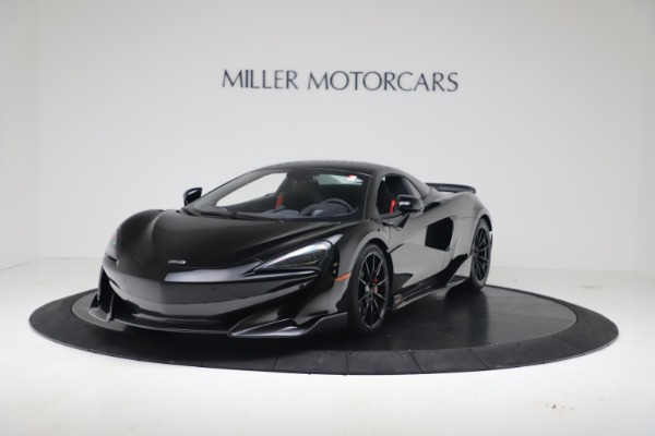 Used 2020 McLaren 600LT Spider for sale $249,900 at Maserati of Greenwich in Greenwich CT 06830 11