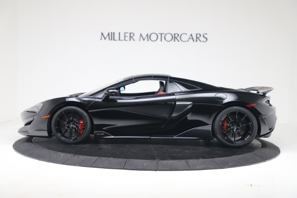 New 2020 McLaren 600LT SPIDER Convertible for sale $289,020 at Maserati of Greenwich in Greenwich CT 06830 12