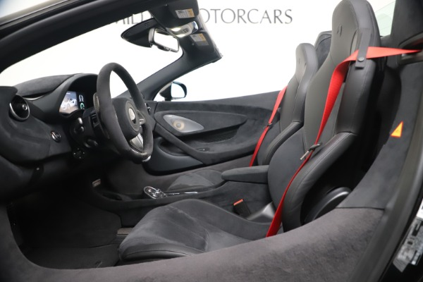 Used 2020 McLaren 600LT Spider for sale $249,900 at Maserati of Greenwich in Greenwich CT 06830 19