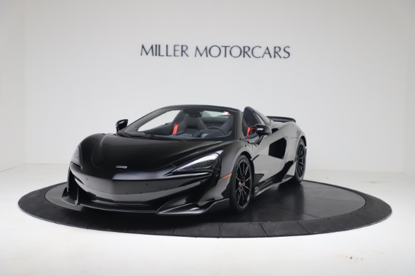 New 2020 McLaren 600LT SPIDER Convertible for sale $289,020 at Maserati of Greenwich in Greenwich CT 06830 2