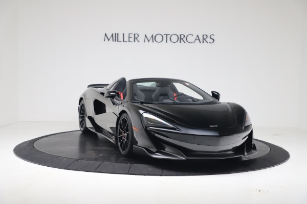New 2020 McLaren 600LT SPIDER Convertible for sale $289,020 at Maserati of Greenwich in Greenwich CT 06830 4