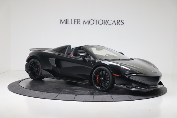 New 2020 McLaren 600LT SPIDER Convertible for sale $289,020 at Maserati of Greenwich in Greenwich CT 06830 5