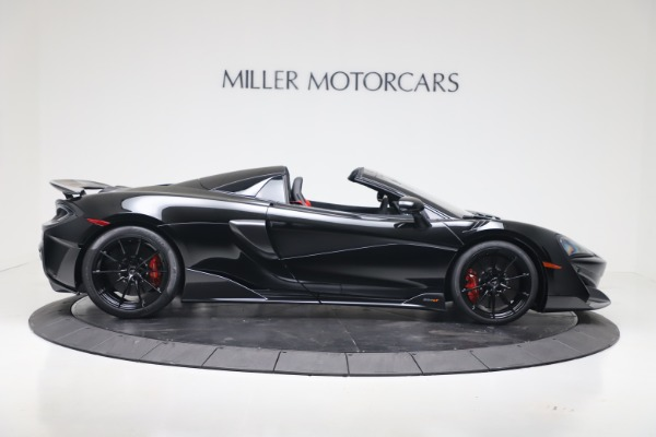 New 2020 McLaren 600LT SPIDER Convertible for sale $289,020 at Maserati of Greenwich in Greenwich CT 06830 6
