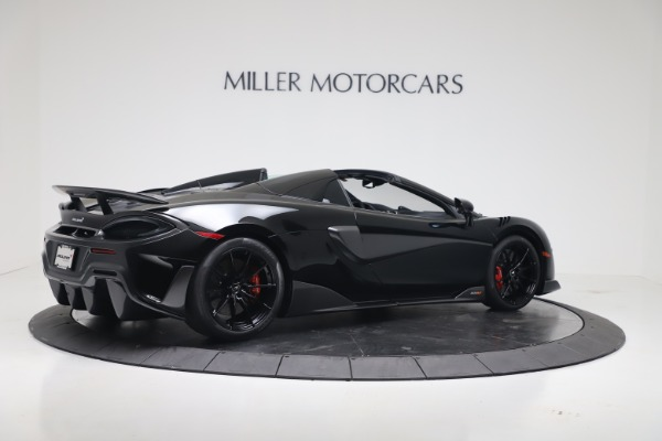 New 2020 McLaren 600LT SPIDER Convertible for sale $289,020 at Maserati of Greenwich in Greenwich CT 06830 7