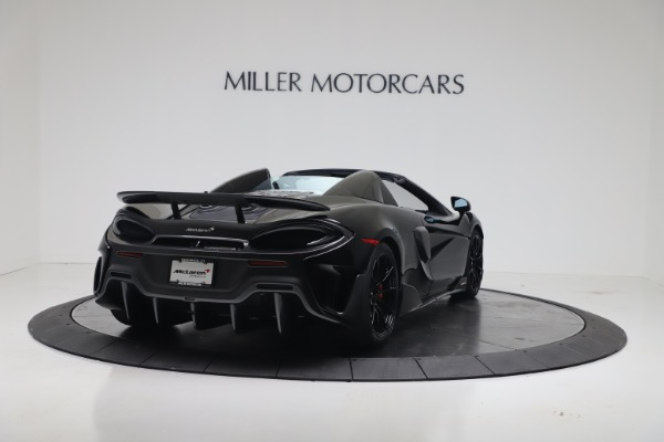 New 2020 McLaren 600LT SPIDER Convertible for sale $289,020 at Maserati of Greenwich in Greenwich CT 06830 8