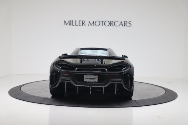 New 2020 McLaren 600LT SPIDER Convertible for sale $289,020 at Maserati of Greenwich in Greenwich CT 06830 9