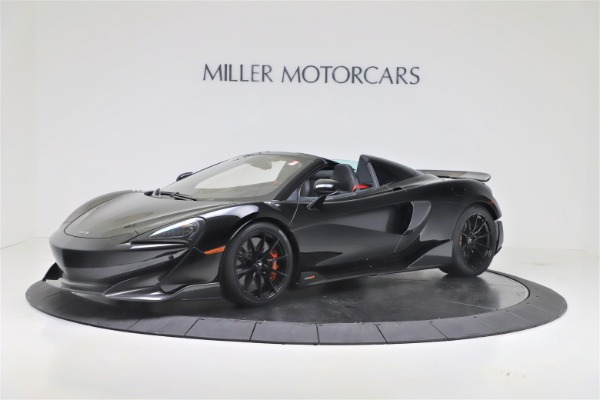 New 2020 McLaren 600LT SPIDER Convertible for sale $289,020 at Maserati of Greenwich in Greenwich CT 06830 1