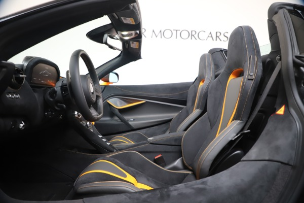 New 2020 McLaren 720S Spider Convertible for sale $374,440 at Maserati of Greenwich in Greenwich CT 06830 25