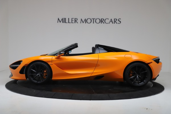 New 2020 McLaren 720S Spider Performance for sale $374,440 at Maserati of Greenwich in Greenwich CT 06830 3