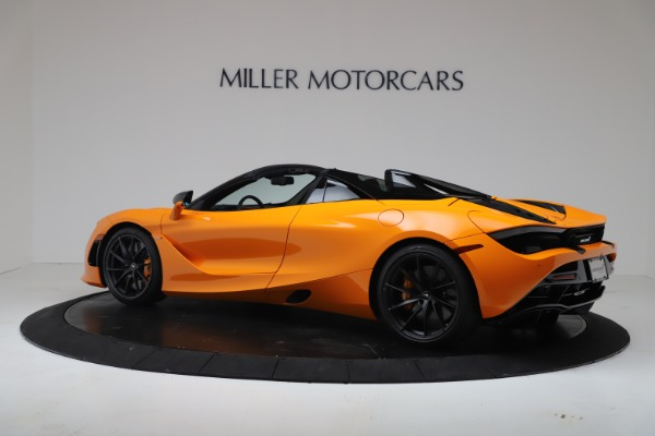 New 2020 McLaren 720S Spider Convertible for sale $374,440 at Maserati of Greenwich in Greenwich CT 06830 4