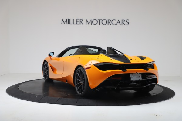 New 2020 McLaren 720S Spider Convertible for sale $374,440 at Maserati of Greenwich in Greenwich CT 06830 5
