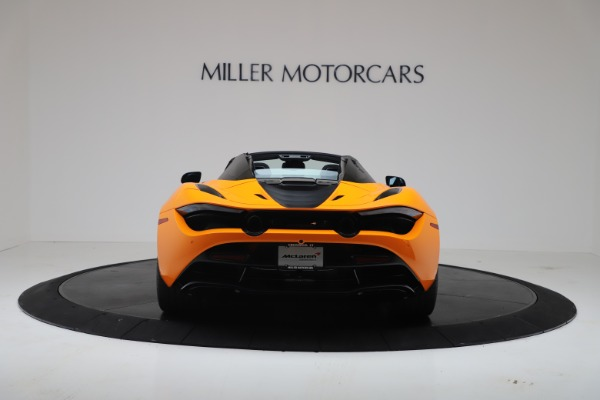 New 2020 McLaren 720S Spider Convertible for sale $374,440 at Maserati of Greenwich in Greenwich CT 06830 6