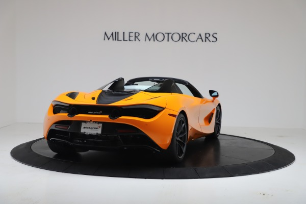 New 2020 McLaren 720S Spider Convertible for sale $374,440 at Maserati of Greenwich in Greenwich CT 06830 7