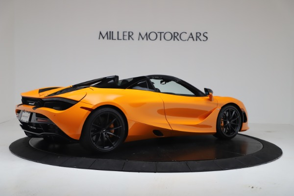 New 2020 McLaren 720S Spider Convertible for sale $374,440 at Maserati of Greenwich in Greenwich CT 06830 8