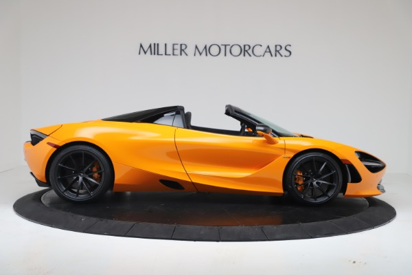 New 2020 McLaren 720S Spider Convertible for sale $374,440 at Maserati of Greenwich in Greenwich CT 06830 9