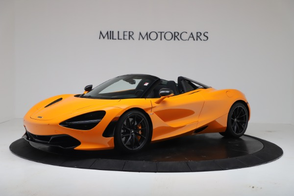 New 2020 McLaren 720S Spider Convertible for sale $374,440 at Maserati of Greenwich in Greenwich CT 06830 1