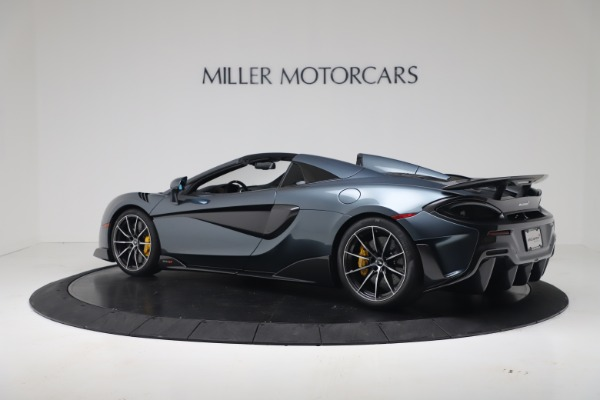 New 2020 McLaren 600LT SPIDER Convertible for sale Sold at Maserati of Greenwich in Greenwich CT 06830 14