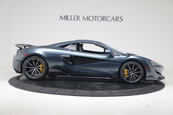 New 2020 McLaren 600LT SPIDER Convertible for sale Sold at Maserati of Greenwich in Greenwich CT 06830 17