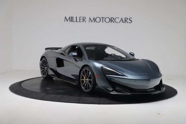 New 2020 McLaren 600LT SPIDER Convertible for sale Sold at Maserati of Greenwich in Greenwich CT 06830 18