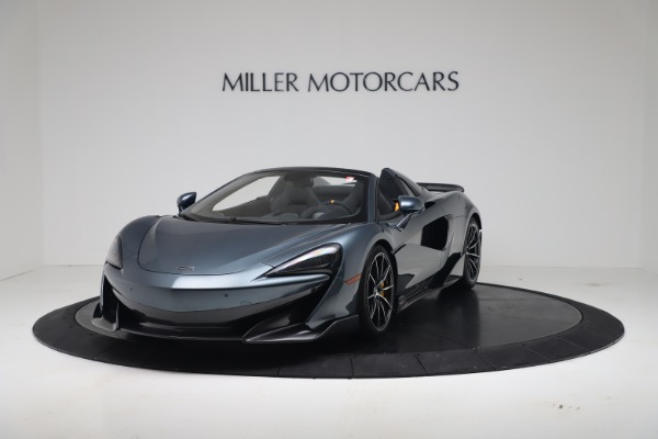 New 2020 McLaren 600LT SPIDER Convertible for sale Sold at Maserati of Greenwich in Greenwich CT 06830 2
