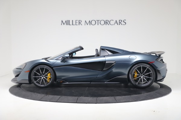 New 2020 McLaren 600LT SPIDER Convertible for sale Sold at Maserati of Greenwich in Greenwich CT 06830 3