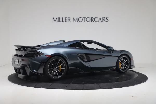 New 2020 McLaren 600LT SPIDER Convertible for sale Sold at Maserati of Greenwich in Greenwich CT 06830 7