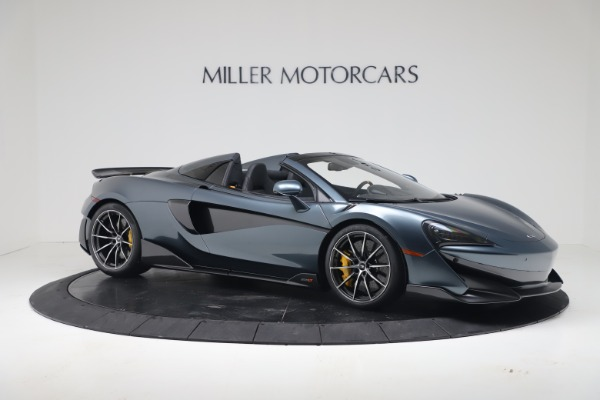 New 2020 McLaren 600LT SPIDER Convertible for sale Sold at Maserati of Greenwich in Greenwich CT 06830 9