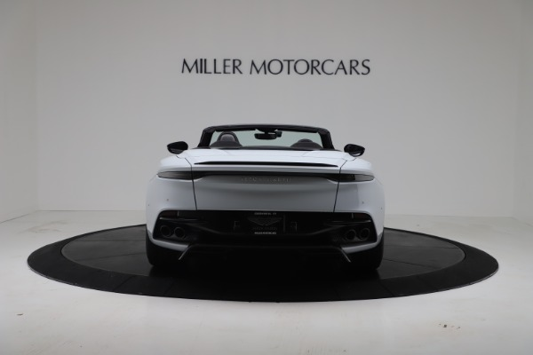 New 2020 Aston Martin DBS Superleggera Volante Convertible for sale Sold at Maserati of Greenwich in Greenwich CT 06830 5