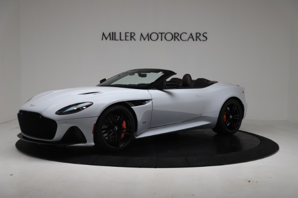 New 2020 Aston Martin DBS Superleggera Volante Convertible for sale Sold at Maserati of Greenwich in Greenwich CT 06830 1
