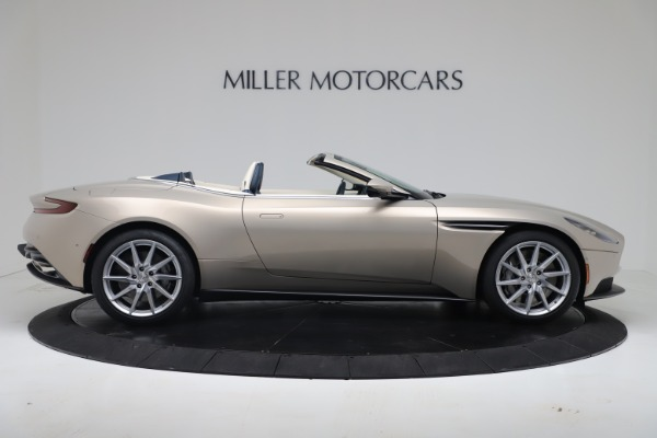 New 2020 Aston Martin DB11 Volante Convertible for sale $255,556 at Maserati of Greenwich in Greenwich CT 06830 12