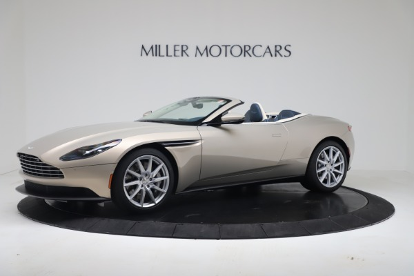 New 2020 Aston Martin DB11 Volante Convertible for sale $255,556 at Maserati of Greenwich in Greenwich CT 06830 1
