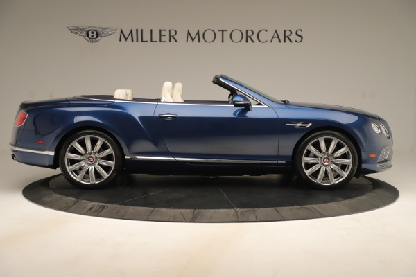 Used 2017 Bentley Continental GTC V8 for sale $152,900 at Maserati of Greenwich in Greenwich CT 06830 9