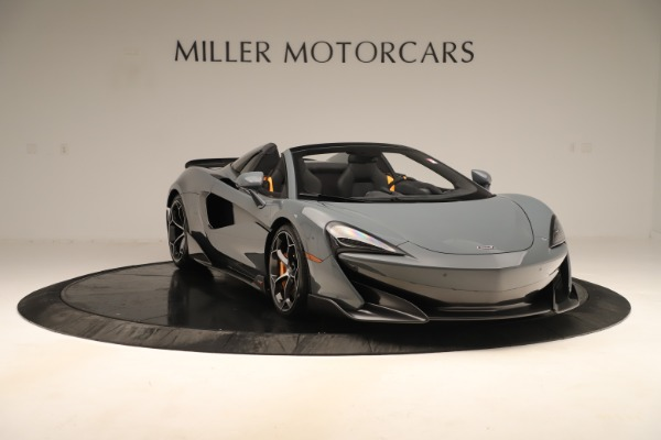 New 2020 McLaren 600LT SPIDER Convertible for sale Sold at Maserati of Greenwich in Greenwich CT 06830 10