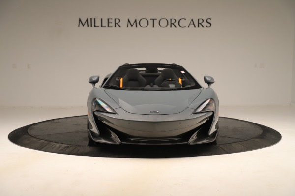 New 2020 McLaren 600LT SPIDER Convertible for sale Sold at Maserati of Greenwich in Greenwich CT 06830 11