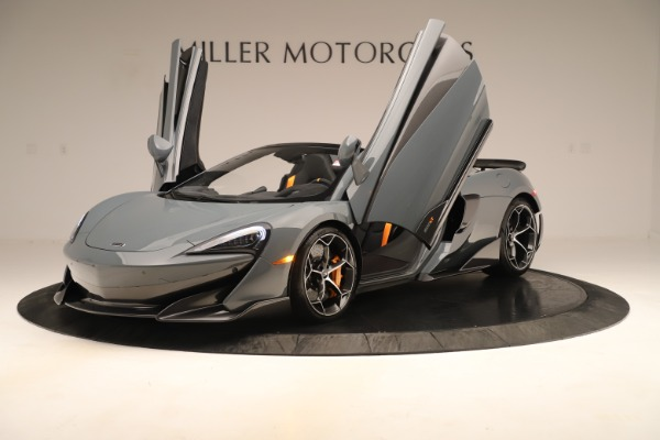 New 2020 McLaren 600LT SPIDER Convertible for sale Sold at Maserati of Greenwich in Greenwich CT 06830 13