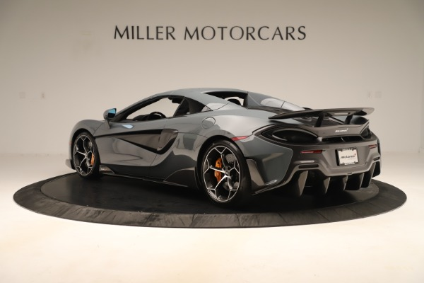 New 2020 McLaren 600LT SPIDER Convertible for sale Sold at Maserati of Greenwich in Greenwich CT 06830 16