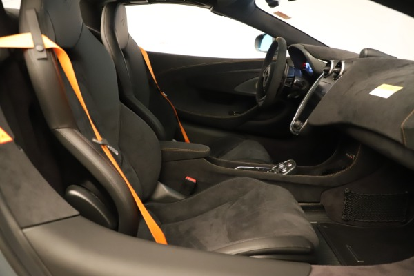 New 2020 McLaren 600LT SPIDER Convertible for sale Sold at Maserati of Greenwich in Greenwich CT 06830 26