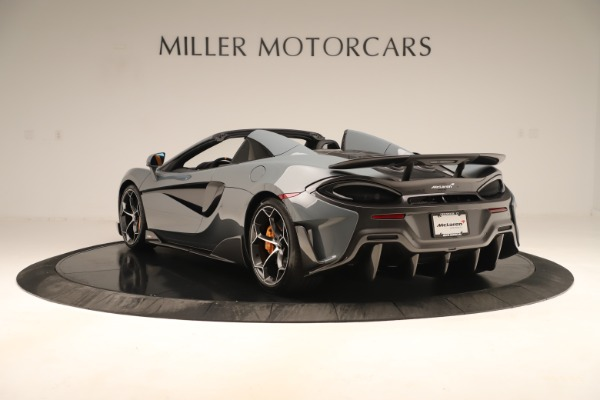 New 2020 McLaren 600LT SPIDER Convertible for sale Sold at Maserati of Greenwich in Greenwich CT 06830 4