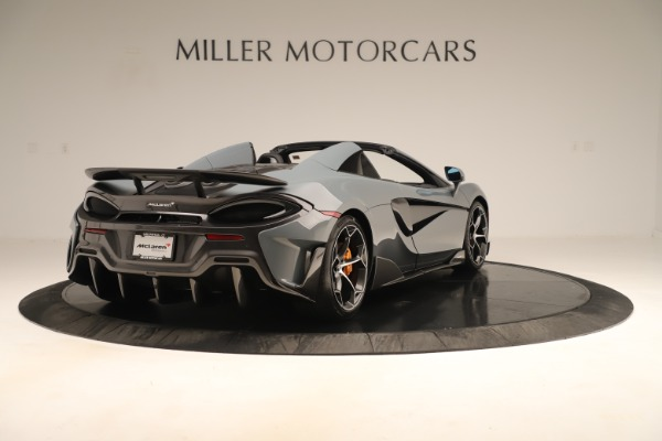 New 2020 McLaren 600LT SPIDER Convertible for sale Sold at Maserati of Greenwich in Greenwich CT 06830 6