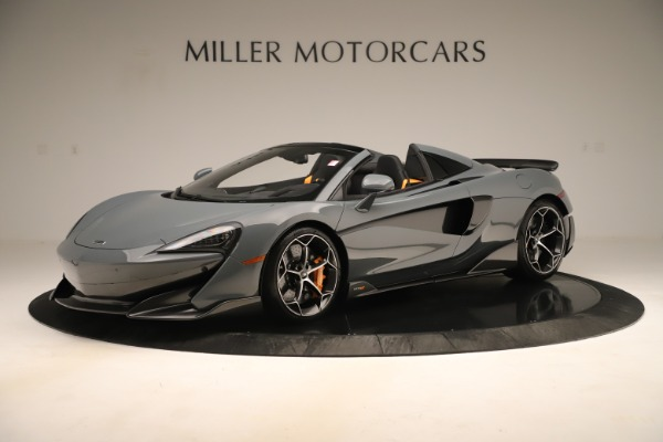 New 2020 McLaren 600LT SPIDER Convertible for sale Sold at Maserati of Greenwich in Greenwich CT 06830 1
