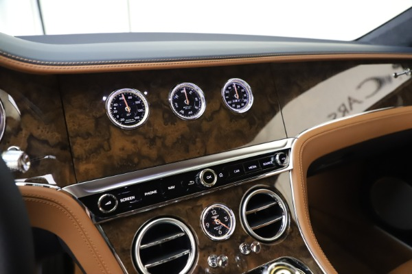New 2020 Bentley Continental GT V8 for sale $240,935 at Maserati of Greenwich in Greenwich CT 06830 24