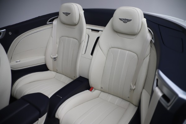 New 2020 Bentley Continental GTC V8 for sale Sold at Maserati of Greenwich in Greenwich CT 06830 27