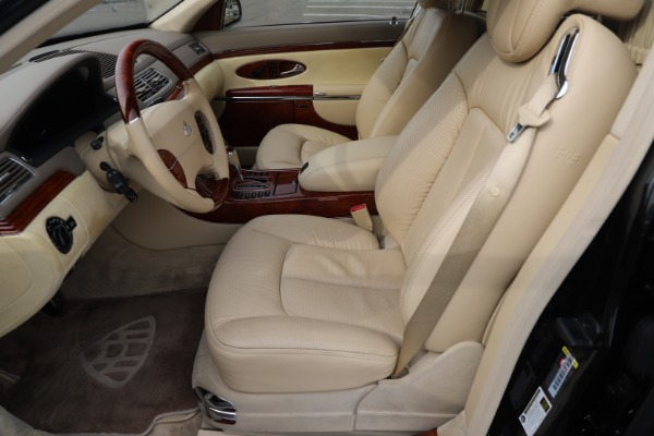 Used 2009 Maybach 62 for sale Sold at Maserati of Greenwich in Greenwich CT 06830 14