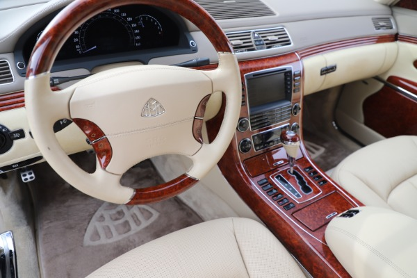 Used 2009 Maybach 62 for sale Sold at Maserati of Greenwich in Greenwich CT 06830 16