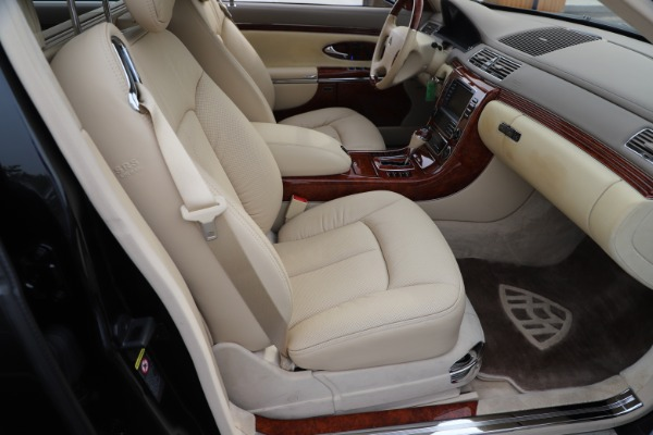 Used 2009 Maybach 62 for sale Sold at Maserati of Greenwich in Greenwich CT 06830 25