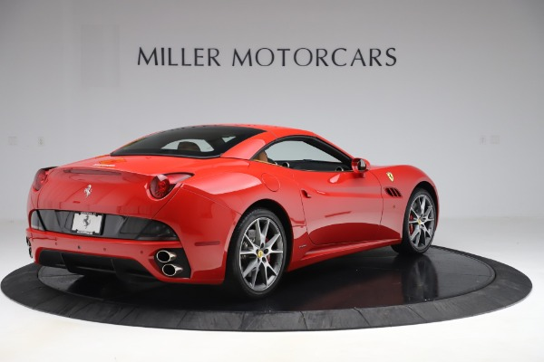 Used 2013 Ferrari California 30 for sale Sold at Maserati of Greenwich in Greenwich CT 06830 16